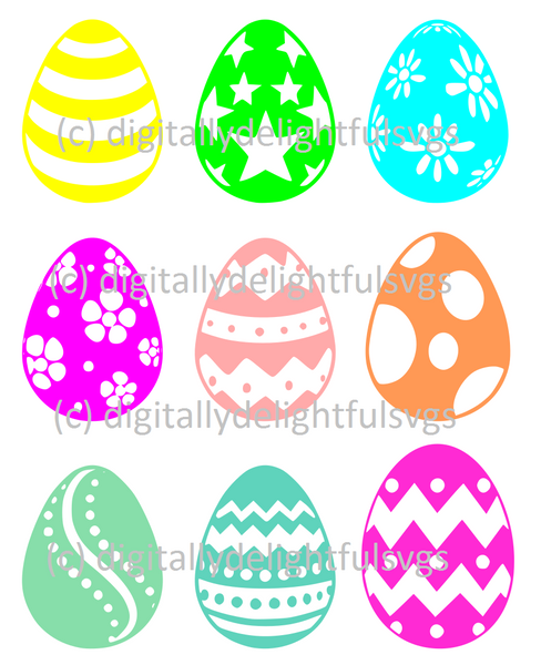 Easter Eggs svg