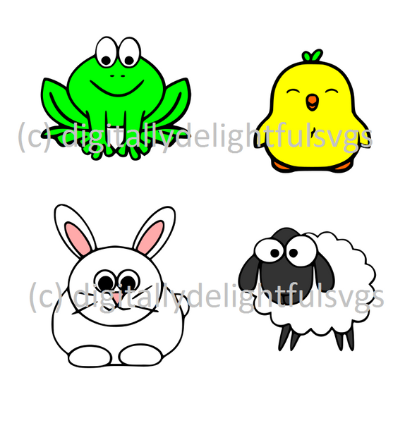 Easter Friends svg