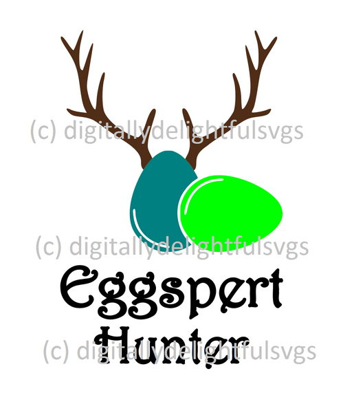 Eggspert Hunter svg