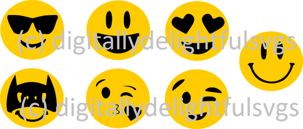 Emoji Faces svg