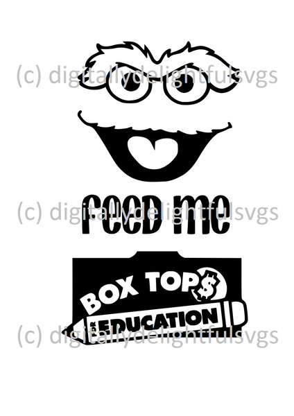 Feed Me 3 svg