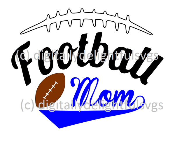 Football mom2 svg