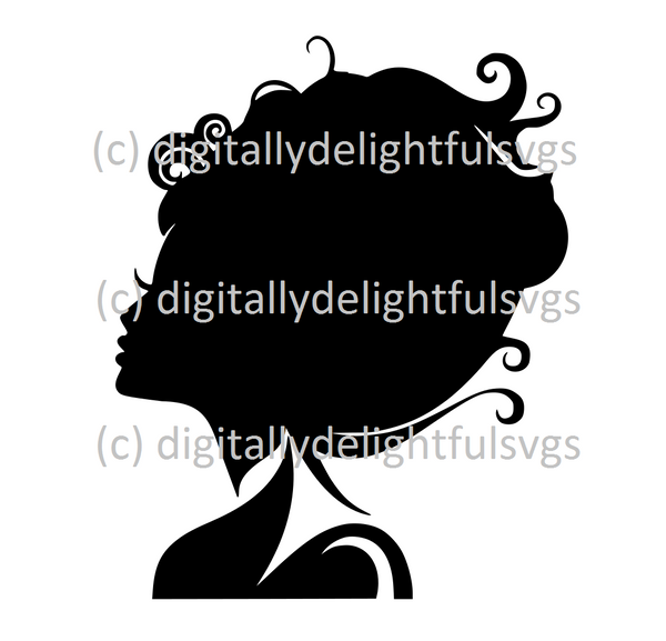 Head Silhouette svg