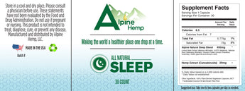 CBD - Capsules - Sleep