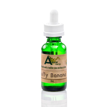 CBD - eLiquid -Nutty Banana