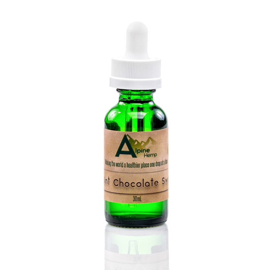 CBD - eLiquid - Mint Chocolate Swirl