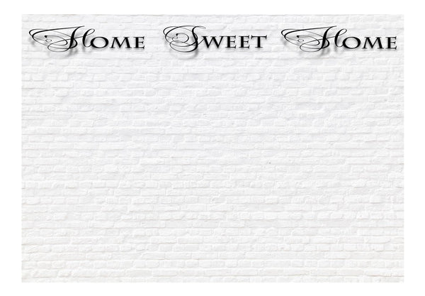 Fotomurale - Home, sweet home - white wall