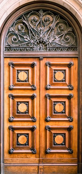 Fotomurale per porta - Antique Doors