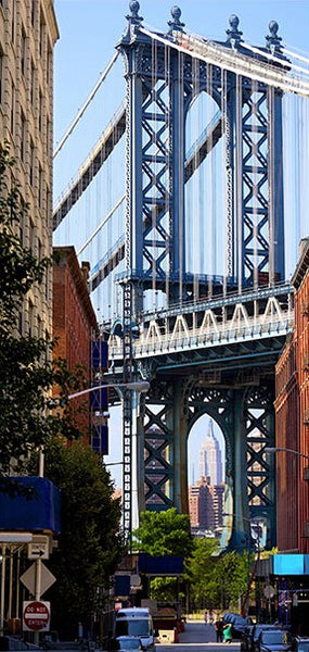 Fotomurale per porta - New York: Bridge