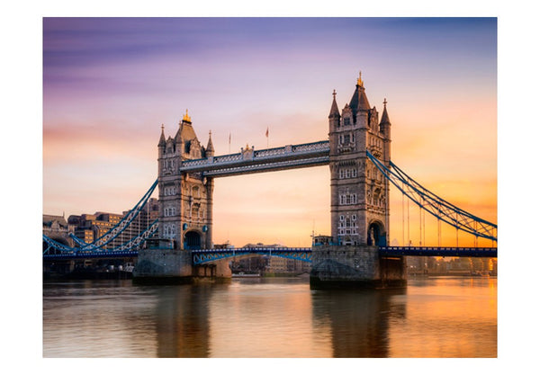 Fotomurale - Alba sopra la Tower Bridge