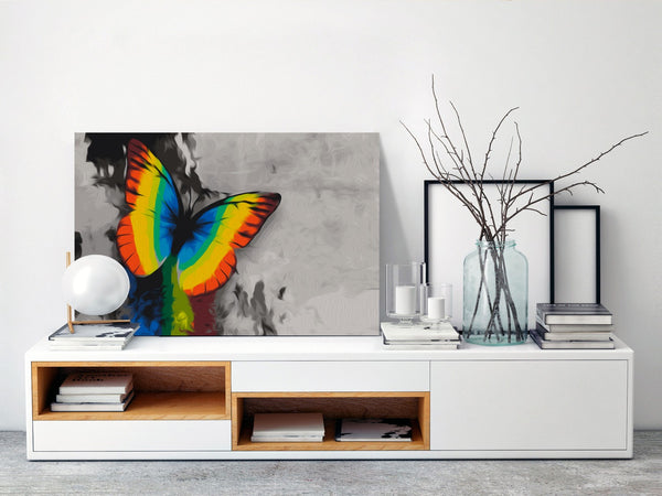 Quadro fai da te - Colourful Butterfly