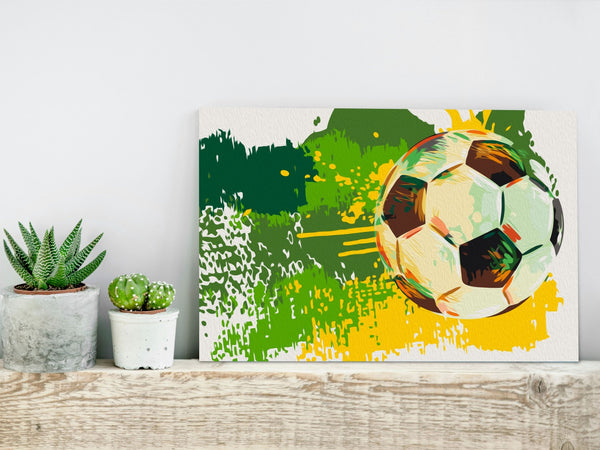 Quadro fai da te - Football Emotions