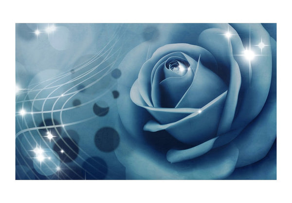 Fotomurale - Blue rose