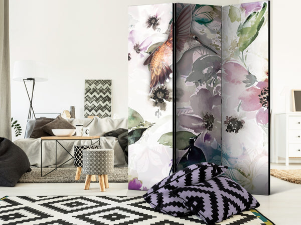 Paravento - Nature in Watercolor [Room Dividers]
