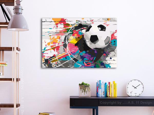 Quadro fai da te - Colourful Ball