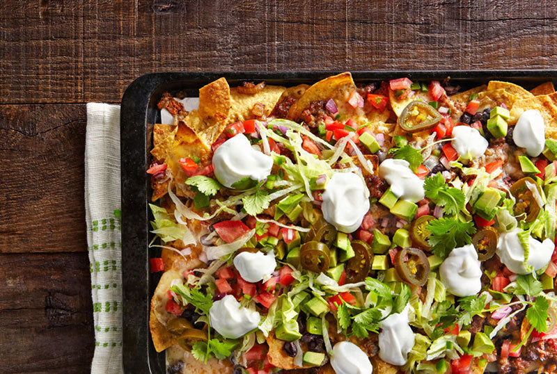 Loaded Nachos. (Photo credit: Becky Luigart-Stayner)