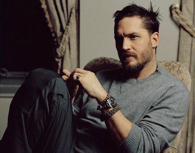 Tom Hardy Wearing a Linen Shirt (Photo credit: Pinterest)