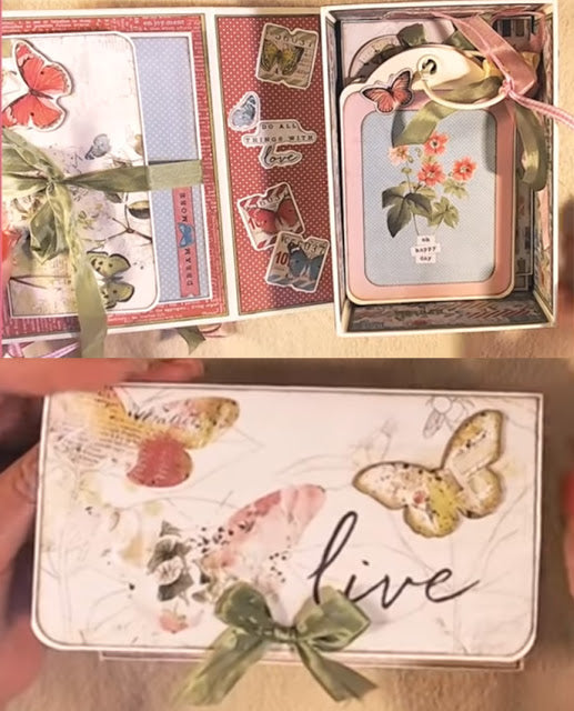 Craftology Box Bi- Monthly Project Kit / May 2019 Simple Vintage Botanicals