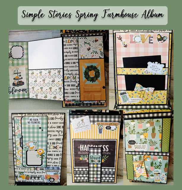 Simple Stories Spring Farmhouse Album