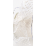 Sheer Polka Dot Ribbon White - Sold by the Yard