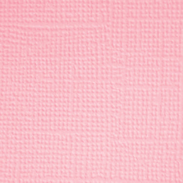 Doodlebug - Textured Cardstock Single Sheets - Blush