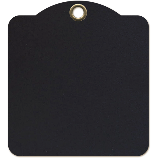 G45 Tags - Square Tag - Black