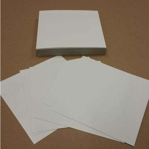 Chipboard White 12x12