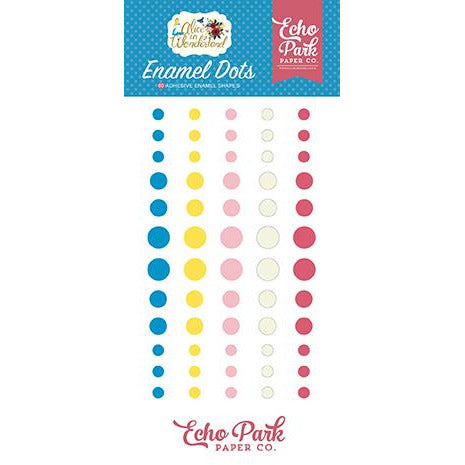Echo Park Alice in Wonderland Enamel Dots