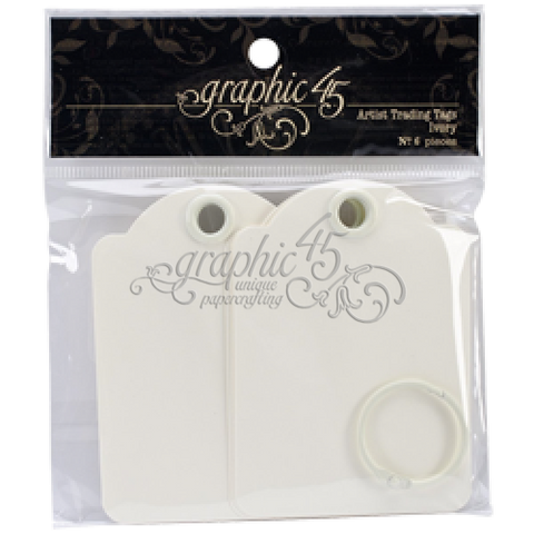G45 Staples - Shabby Chic Ornate Metal Brads
