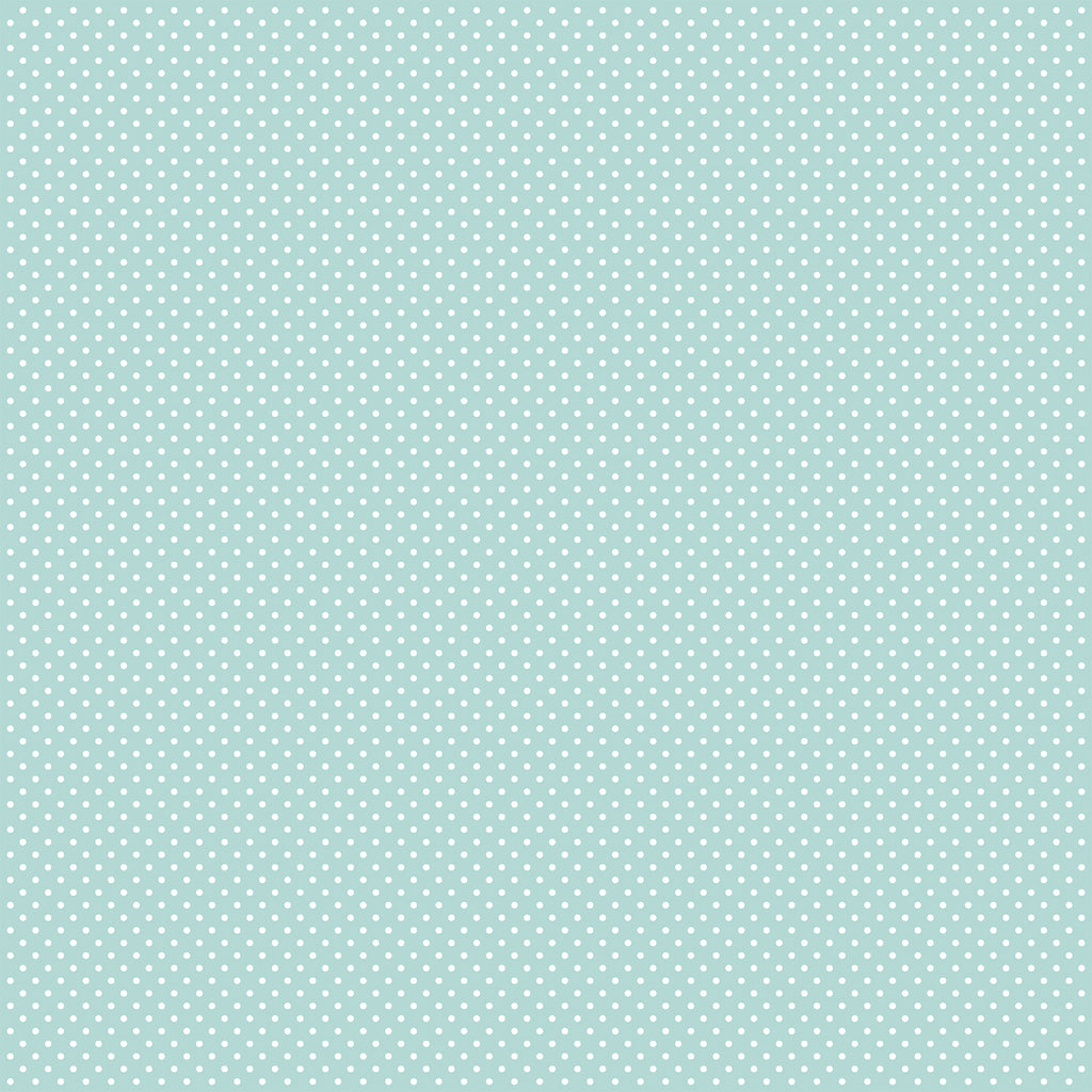 Carta Bella Dots 12 x 12 Sheet / Mint Dots