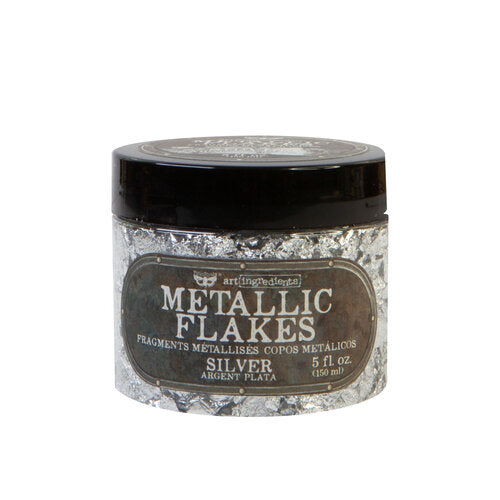 Prima - Art Ingredients - Metal Flakes - Silver