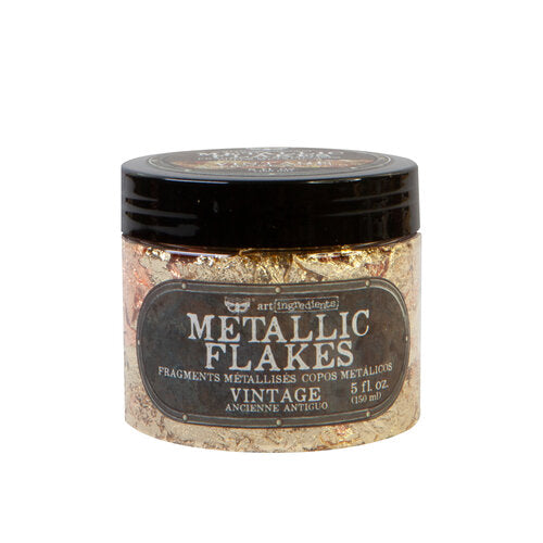 Prima - Art Ingredients - Metal Flakes - Vintage