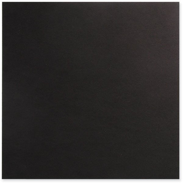 Chipboard Black 12x12