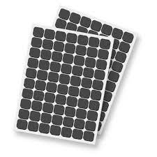 3D Foam Squares - Black,  Regular / 5 sheets