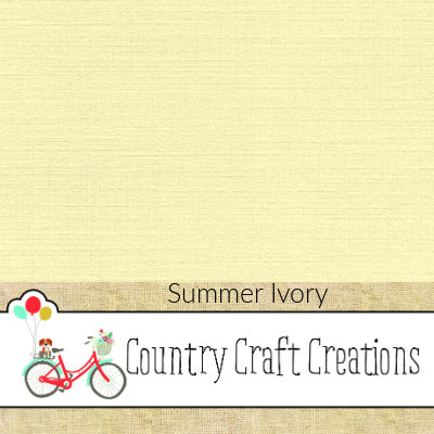 Artisan Cardstock - Linen - Summer Ivory - NEW COLOR