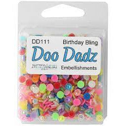 Shaker Embellishments - Doo Dadz - Birthday Bling