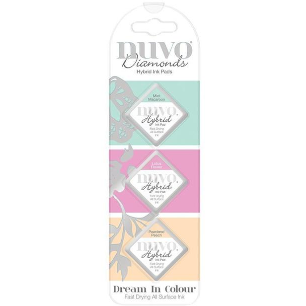 Nuvo Diamond Hybrid Ink Pads - Dream In Color