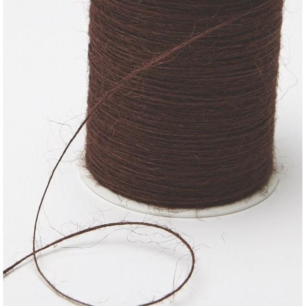 Jute Burlap String Cord Ribbon - Brown