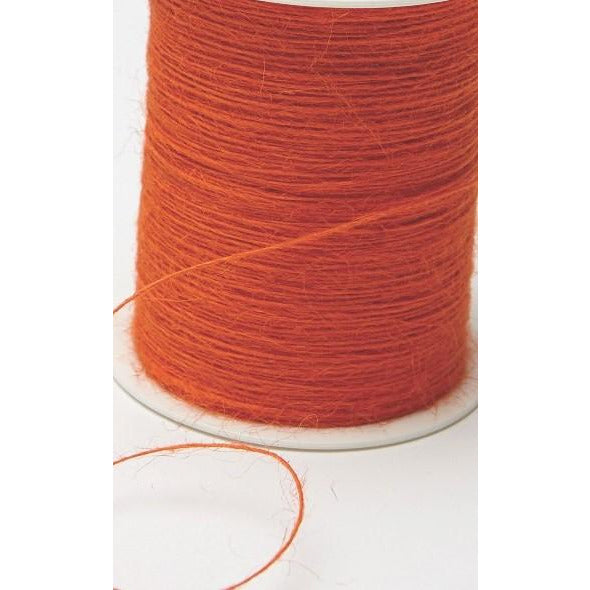 Jute Burlap String Cord Ribbon - Orange