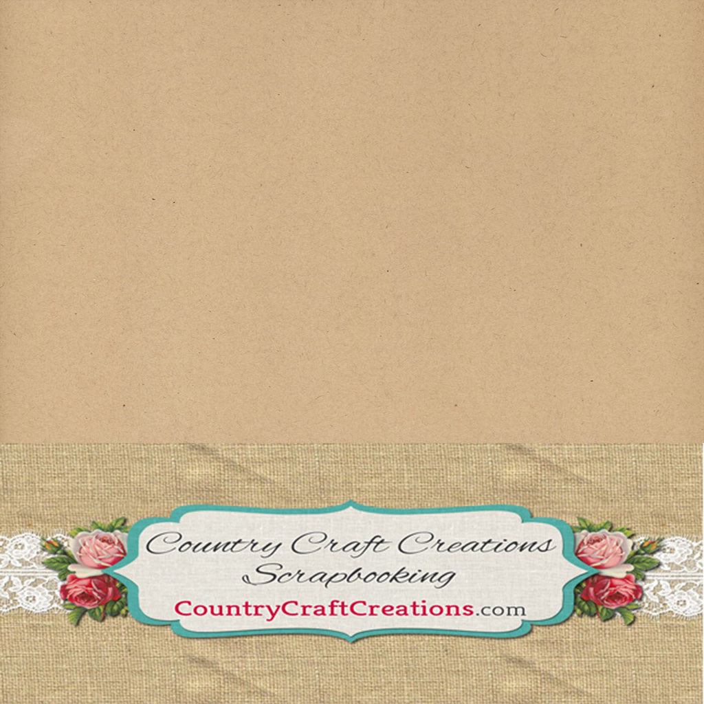 Artisan Cardstock Kraft / Single Sheets