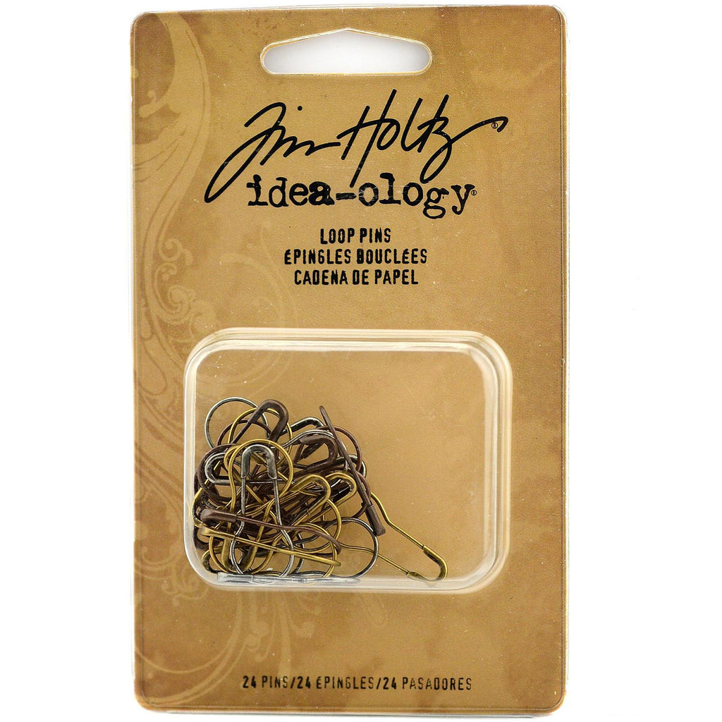 Tim Holtz Loop Pins