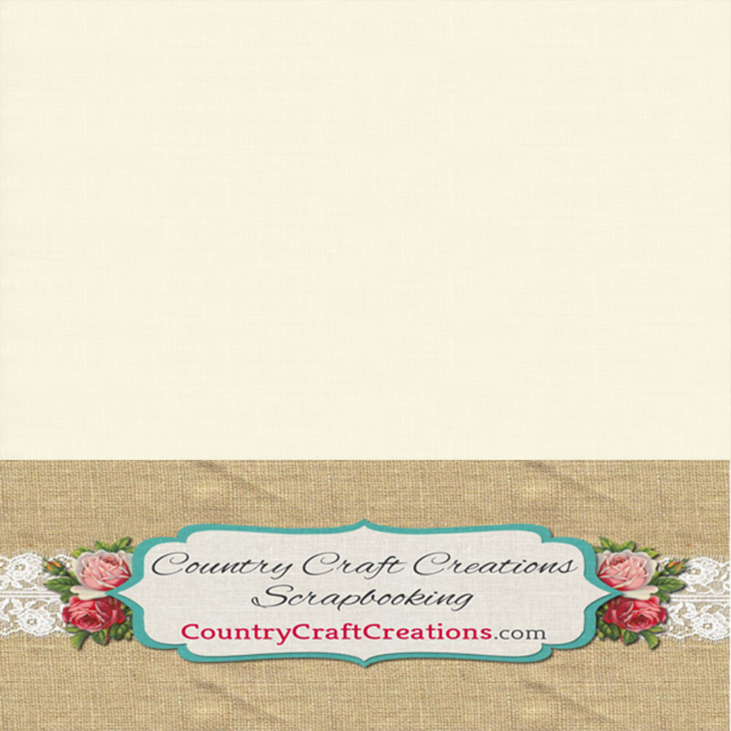Artisan Cardstock - Linen - Natural / Single Sheets