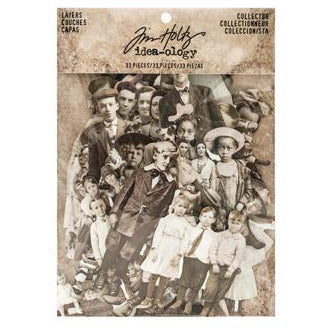 Tim Holtz Ideaology Paper Dolls
