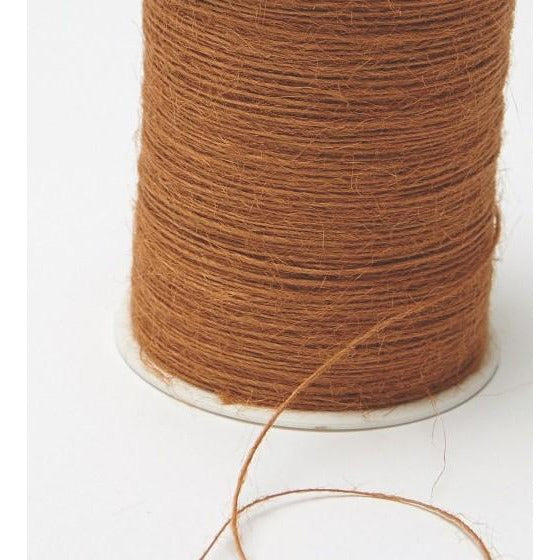 Jute Burlap String Cord Ribbon - Antique Gold