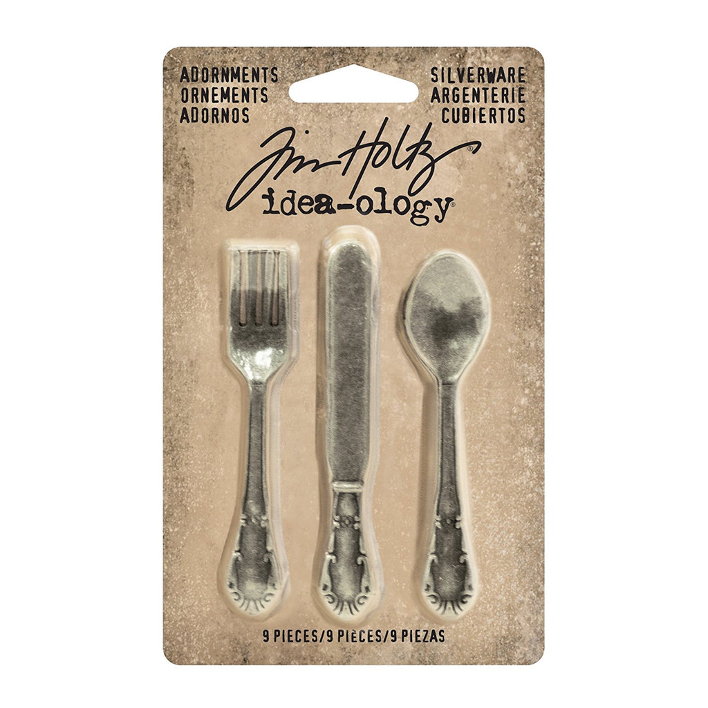 Tim Holtz Silverware Adornments