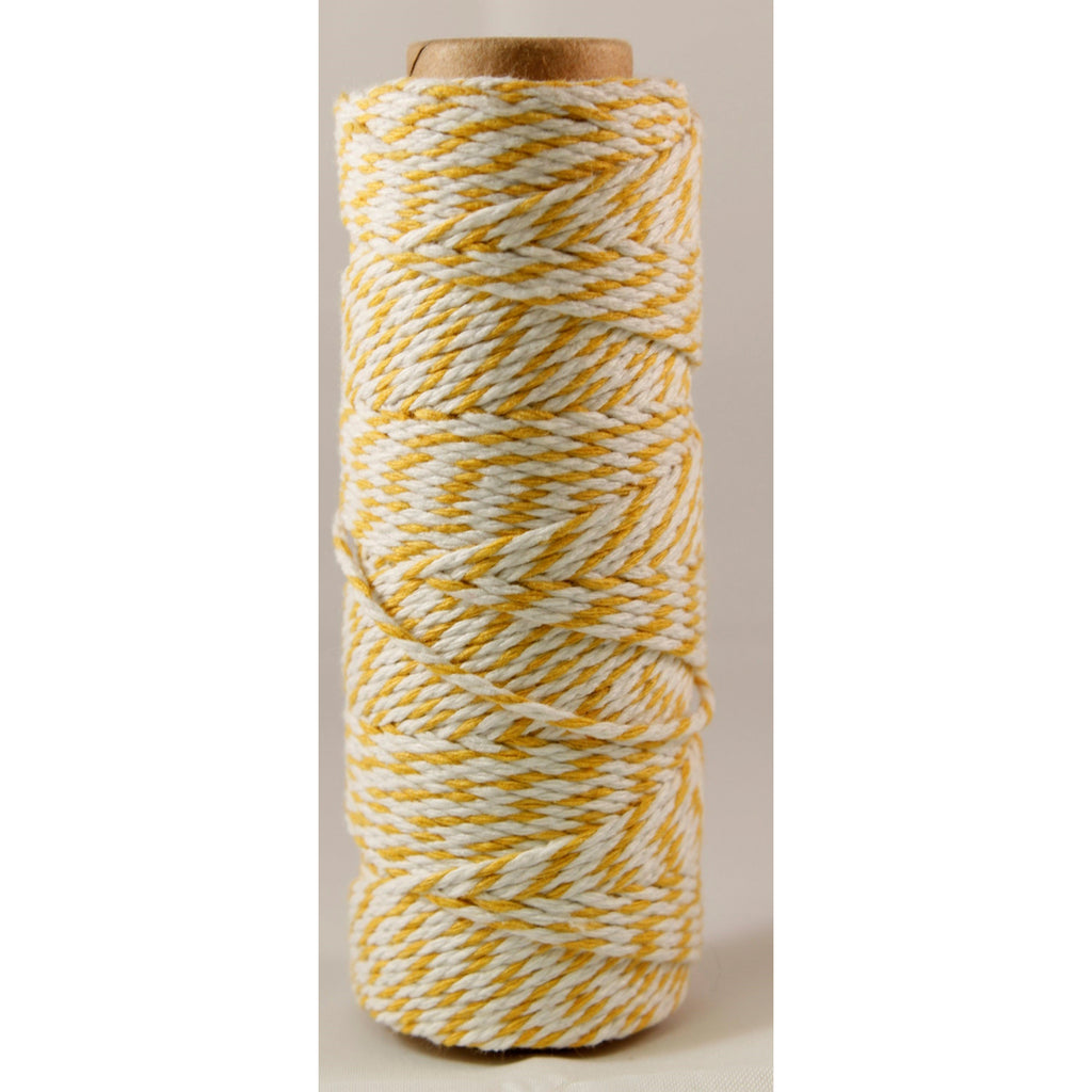 Baker's Twine Twisted Ribbon sold by the yard Yellow