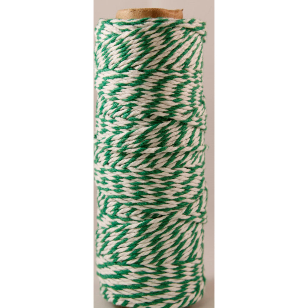 Baker's Twine Twisted Ribbon sold by the yard Green