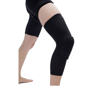 Knee Pads support  Sleeve Honeycomb Brace Elastic  sportd protective Gear