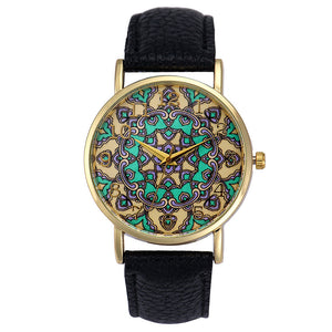 NEW Luxury Women's Faux Leather Analog Quartz Wristwatch