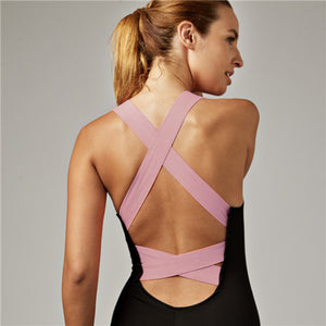 Women's Sexy Backless On-Piece Fitness Fitness Suit